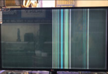 LG LED TV NO DISPLAY & VERTICAL LINES BAR PROBLEM